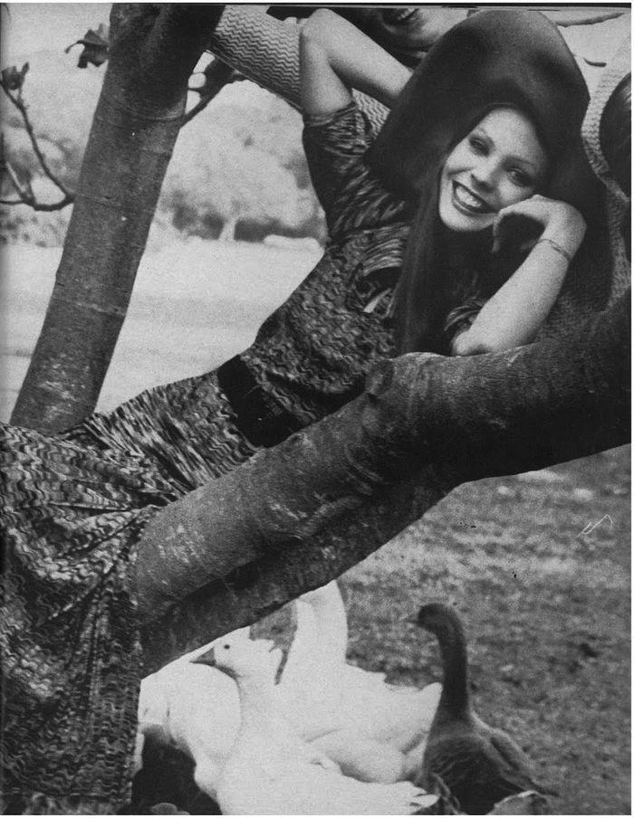 floppy 1970's hat, Vogue