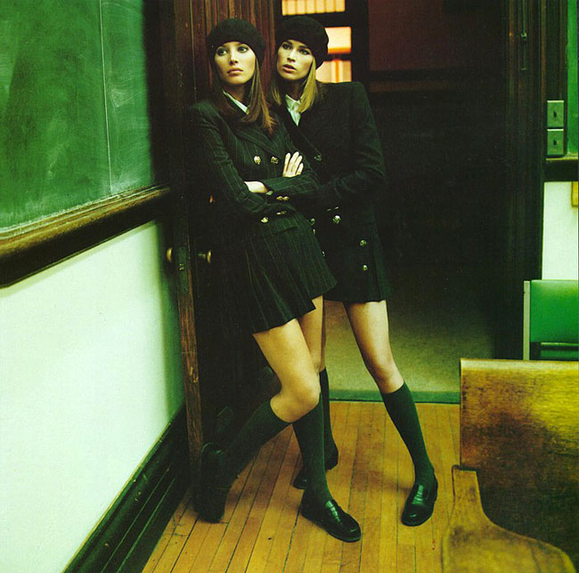 Campus beat vogue italia march 1994-1