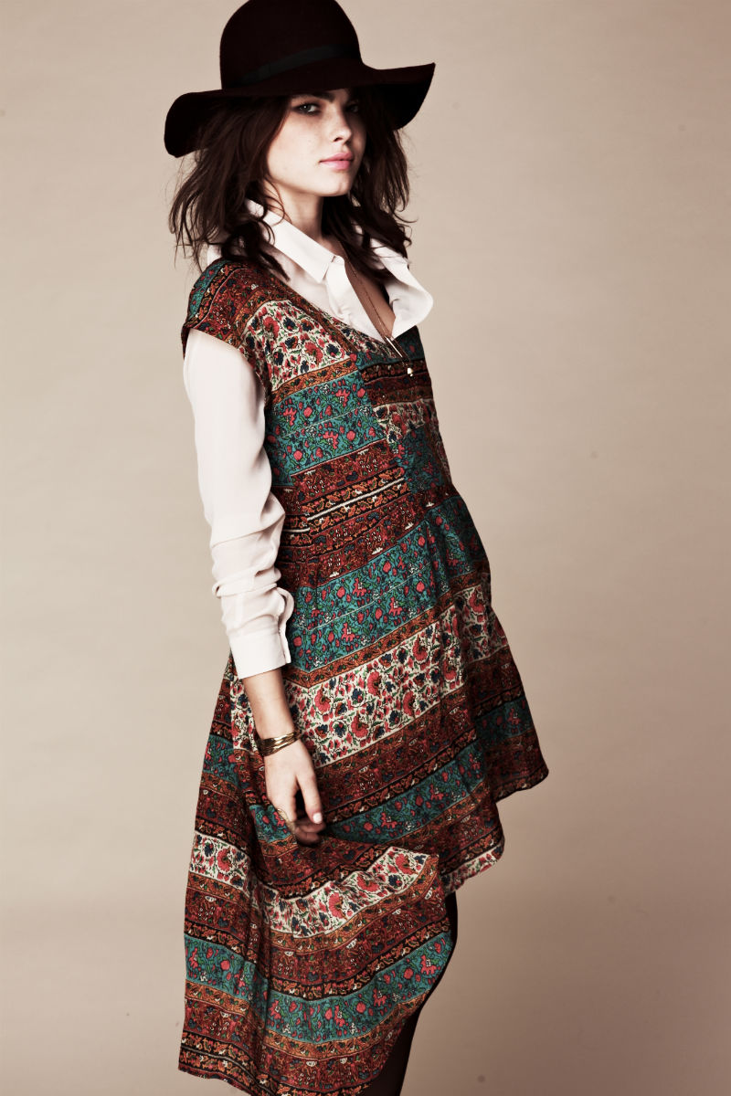 Bambilookbook9 Bambi Northwood Blyth for Free People July 2011 Lookbook