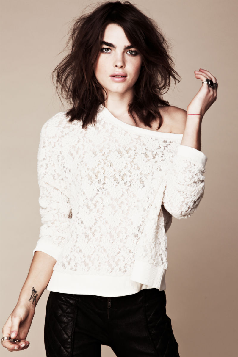 Bambilookbook6 Bambi Northwood Blyth for Free People July 2011 Lookbook