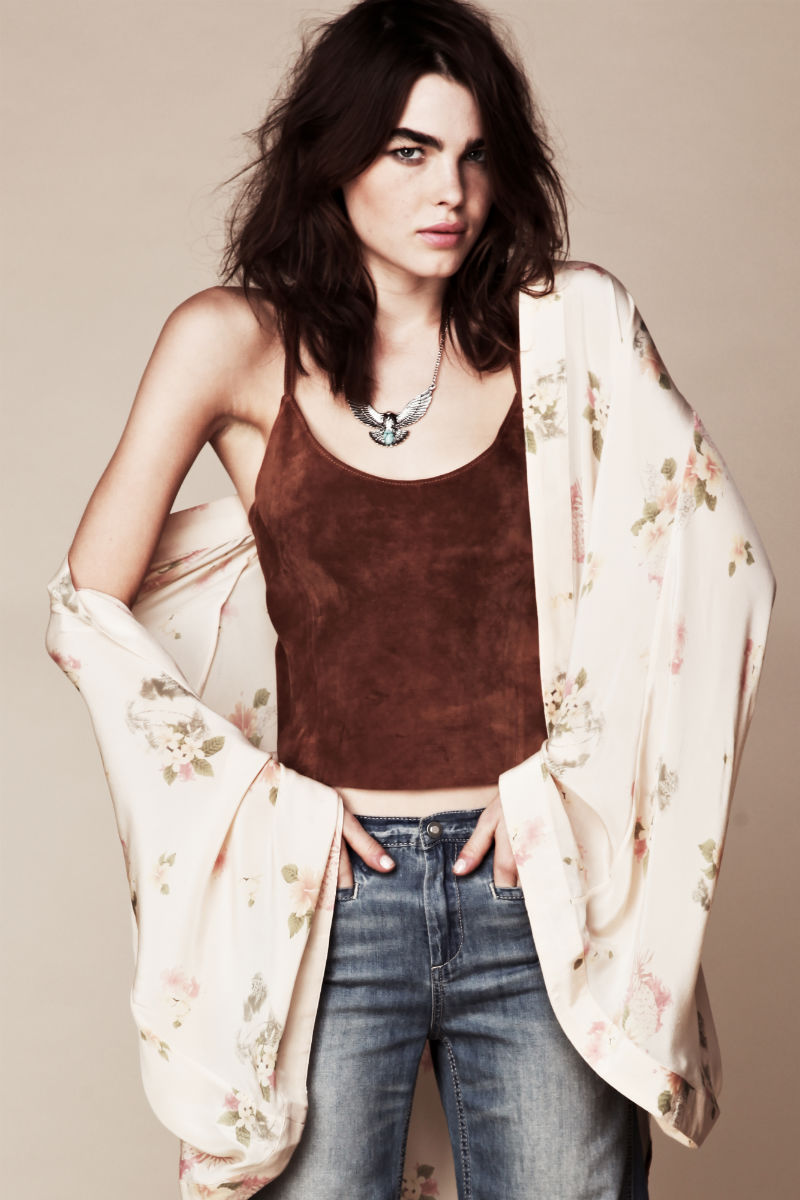 Bambilookbook10 Bambi Northwood Blyth for Free People July 2011 Lookbook