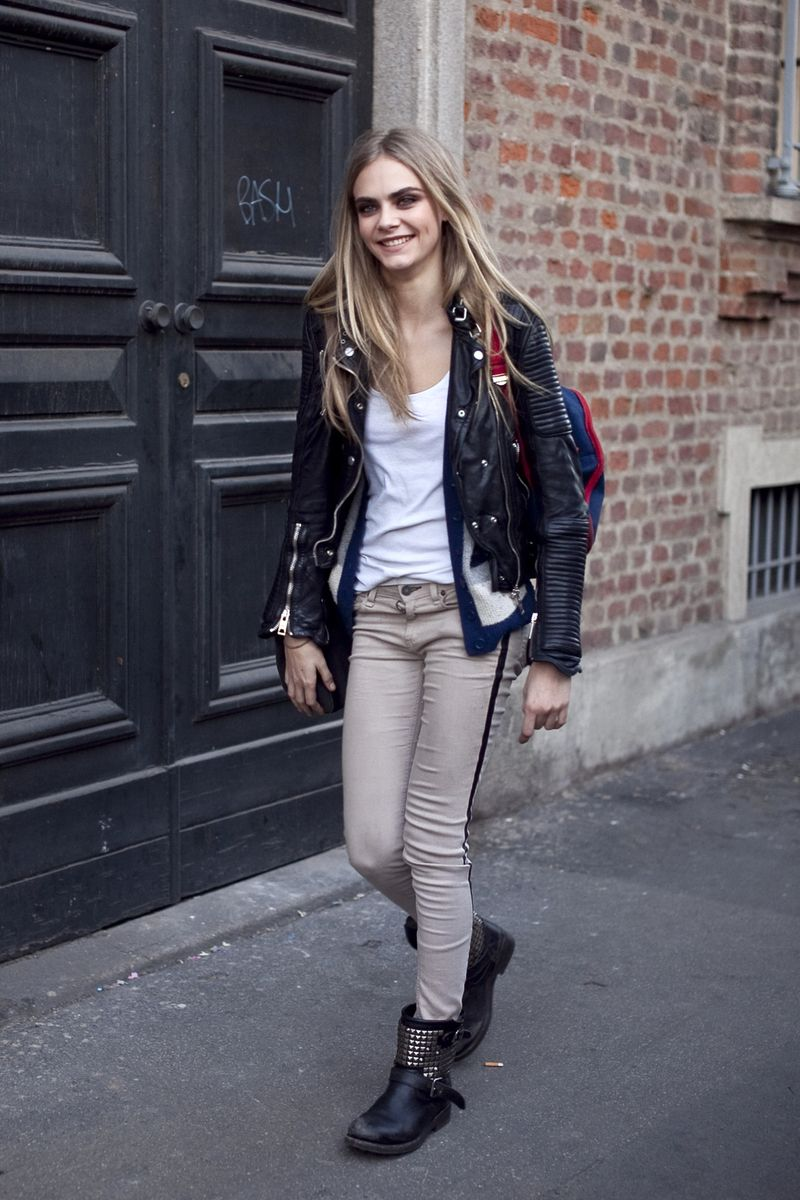 Cara Delevingne Street-Style