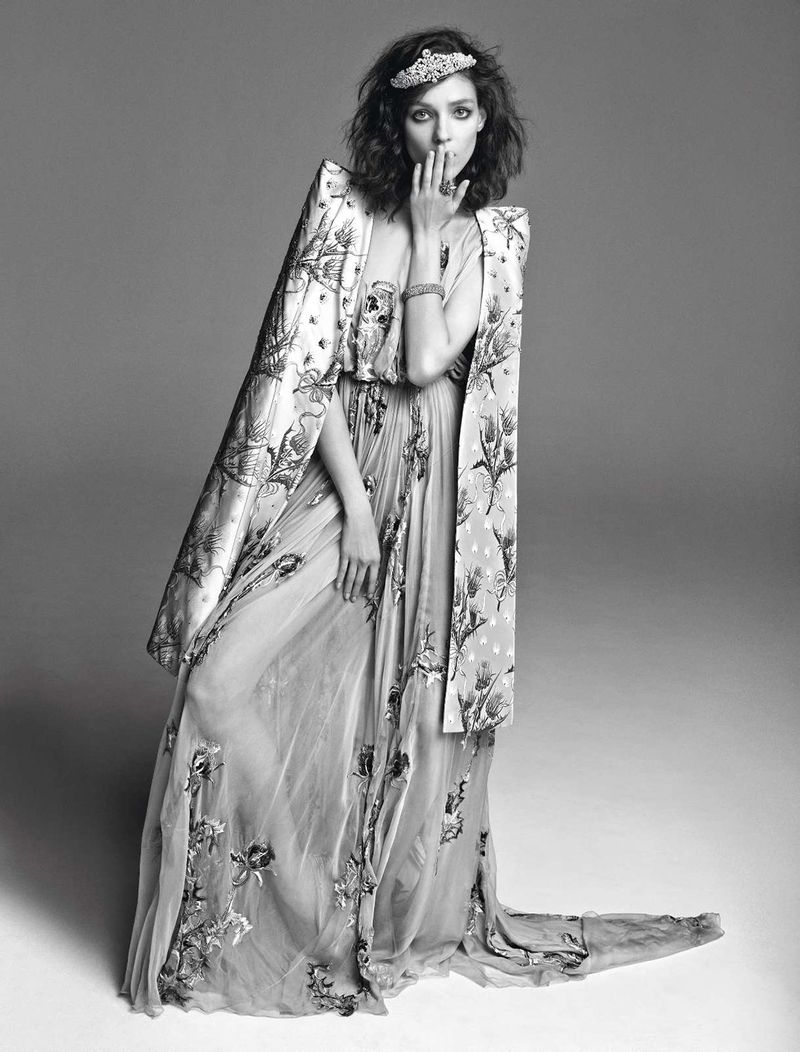 Kati Nescher by Inez & Vinoodh (Un Songe En Hiver - Vogue Paris November 2012) 9