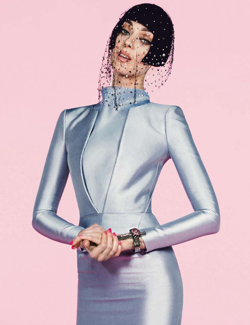 Kati Nescher by Inez & Vinoodh (Un Songe En Hiver - Vogue Paris November 2012) 12