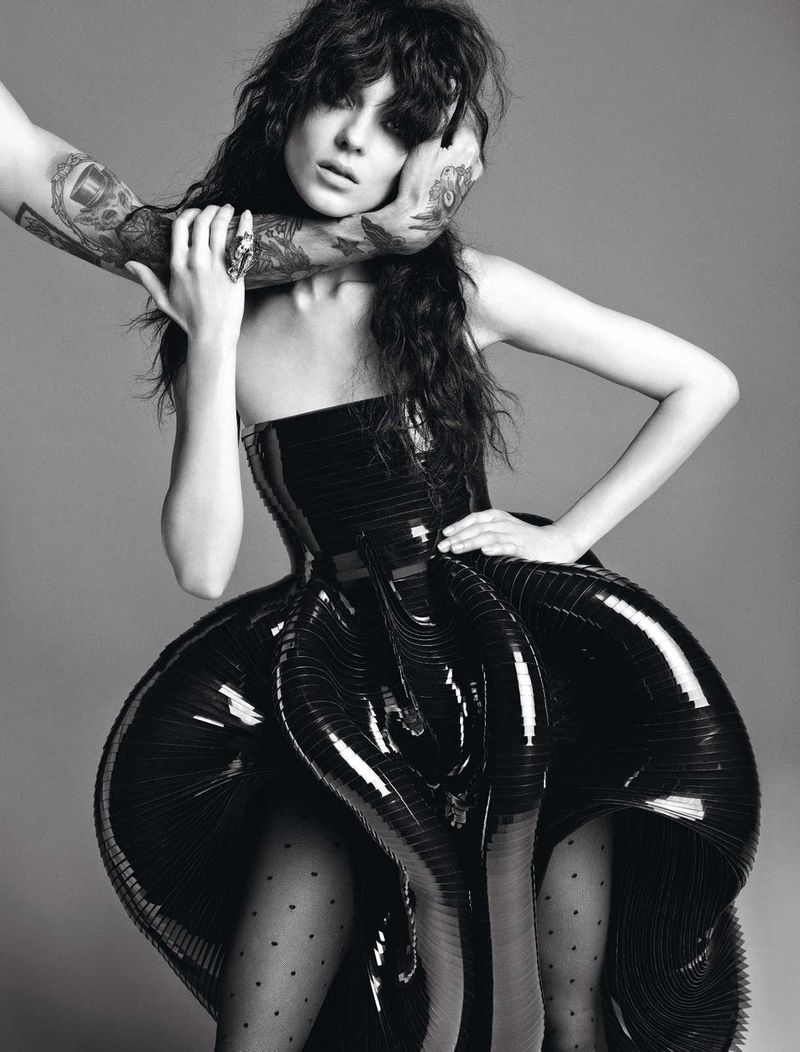 Kati Nescher by Inez & Vinoodh (Un Songe En Hiver - Vogue Paris November 2012) 3