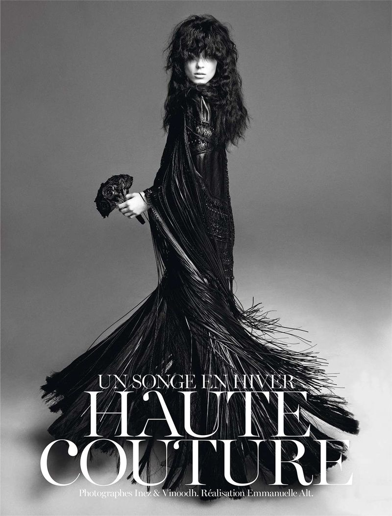 Kati Nescher by Inez & Vinoodh (Un Songe En Hiver - Vogue Paris November 2012) 1