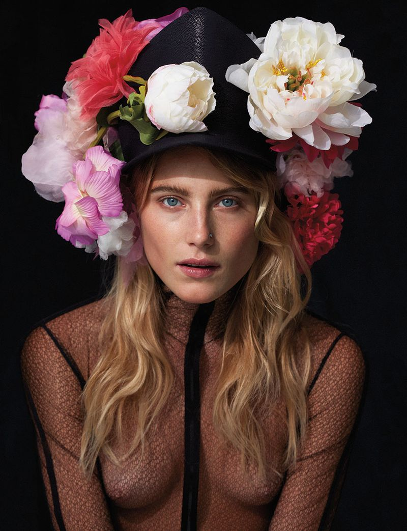 Dree Hemingway by Cass Bird (Red Roses In My Garden - Muse #31 Fall 2012) 2