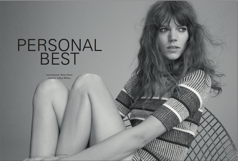 Freja-Beha-Erichsen-By-Benny-Horne-For-Russh-June-July-2014-1